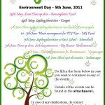 Report on Environment Day Activities - Bangalore